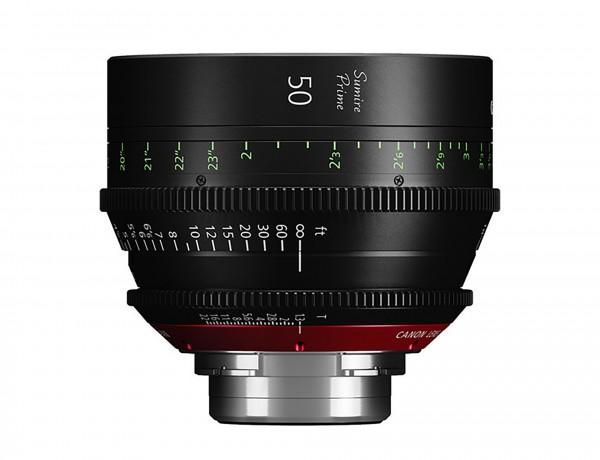 Canon 50mm Sumire Prime T1.3 (PL Mount)