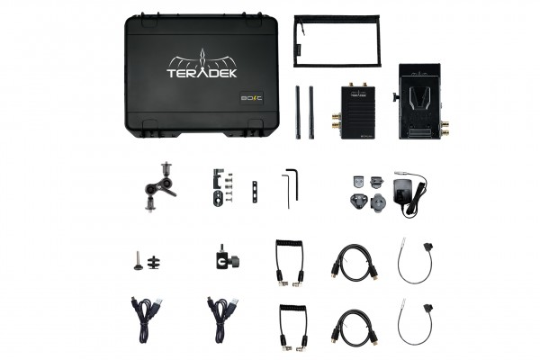 Teradek Bolt XT 500 Wireless SDI/HDMI Transmitter/Receiver Deluxe Kit V-Mount