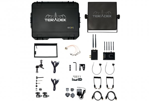 Teradek Bolt XT 3000 Wireless SDI/HDMI Transmitter/Receiver Deluxe Kit V-Mount