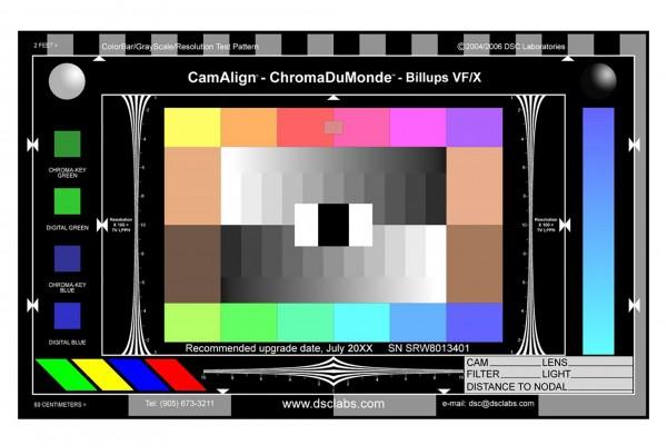 DSC Labs VF/X Billups chart - CDM12+4R Senior