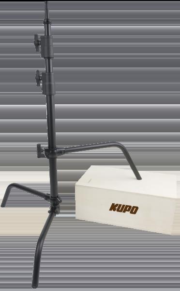 "KUPO CS-30MB 30"" C-Stand with sliding leg,Black"