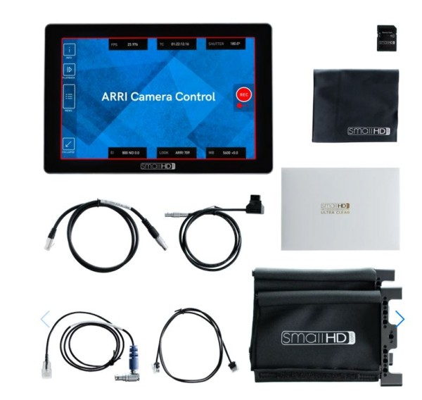 "SmallHD Cine 7 7"", 1800Nits, DCI-P3 Color Touchscreen Monitor + ARRI Camera Control Software"