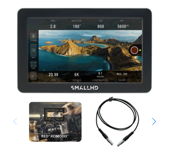 "SmallHD FOCUS Pro RED KOMODO Kit 5"", 800Nits, 3G-SDI, Touchscreen On-Camera Monitor--Copy"