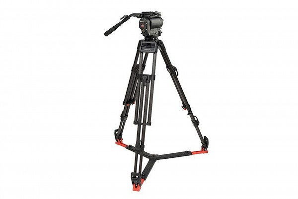 OConnor 1030DS Head & 30L Tripod with Floor Spreader