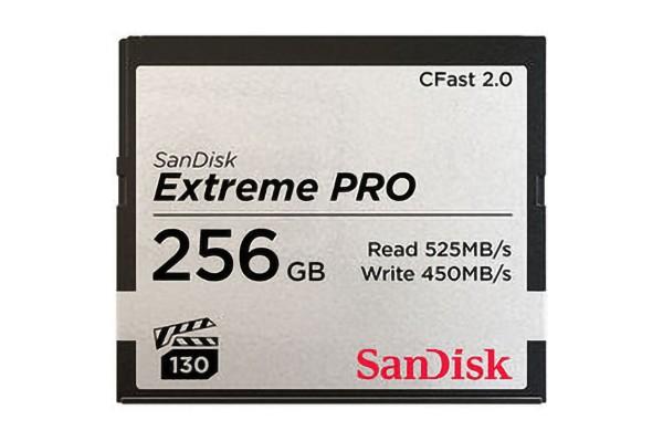 SanDisk CFast 2.0 Extreme Pro 256GB