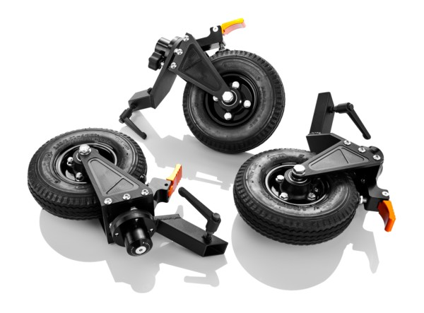 Inovativ AXIS Accessories: AXIS Wheels with Brakes
