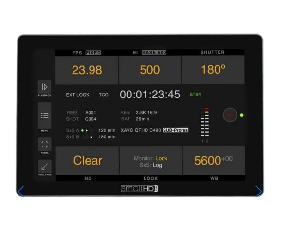 "SmallHD Cine 7 7"", 1800Nits, DCI-P3 Color Touchscreen Monitor + Sony VENICE Camera Control Software"