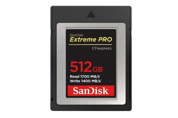 SanDisk CFexpress Extreme Pro 512GB