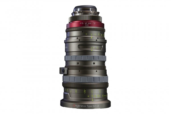 Angénieux Type EZ-2 S35mm, 15-40mm F1.9 / T2, 2.7x Zoom Factor