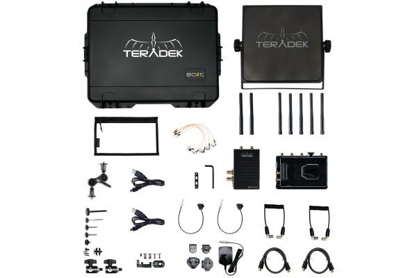 Teradek Bolt XT 1000 Wireless SDI/HDMI Transmitter/Receiver Deluxe Kit V Mount