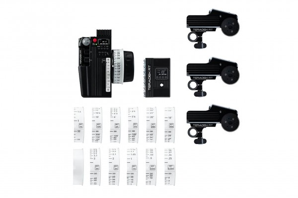 Teradek RT CTRL.3 Kit - Motor Wireless Lens Control Deluxe Kit (3-Motors)