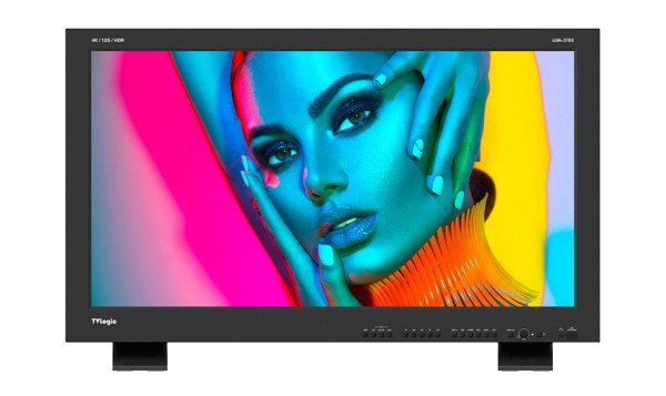 """TVlogic LUM-310X 31"""" 4K/2K HDR Reference Monitor (Dual Cell)"""