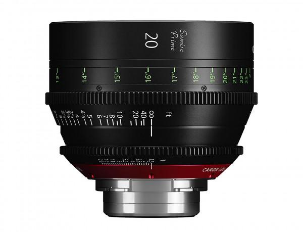Canon 20mm Sumire Prime T1.5 (PL Mount)