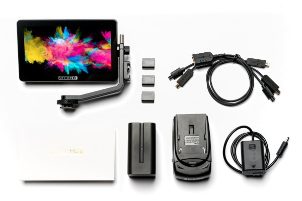 SmallHD Focus OLED HDMI Monitor Sony NPFW50 Kit