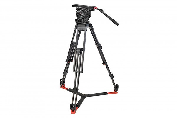 OConnor 2560 Head & 60L 150mm Bowl Tripod with Floor Spreader