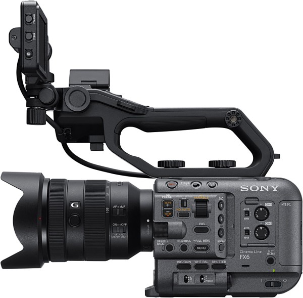 Sony FX6 Full Frame 4K up to 120p