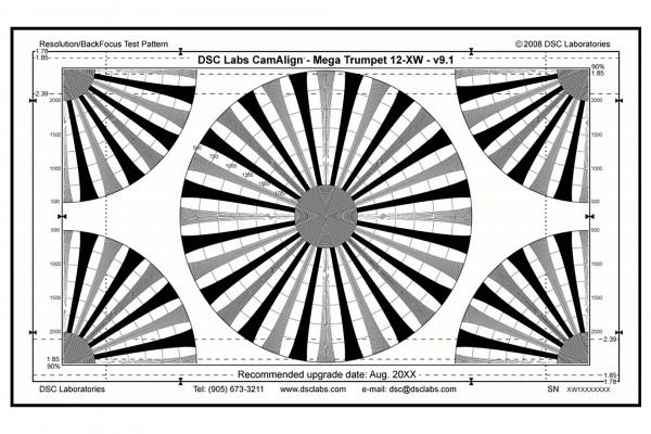 DSC Labs MegaTrumpet 12 & Focus Chart