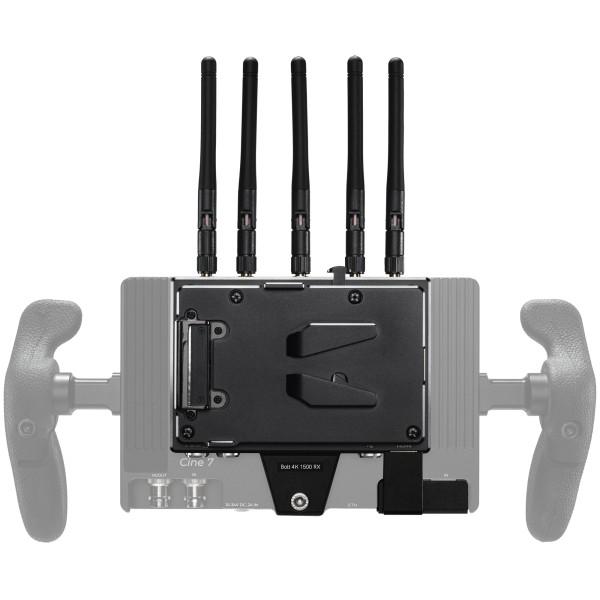 Teradek Bolt 4K Receiver Monitor Module 1500ft for Smart7 with V-Mount