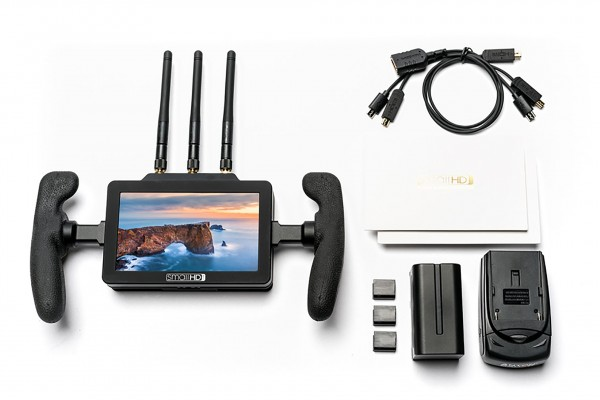 "SmallHD FOCUS 5"" incl. Bolt Sidekick Rx, 1280x720, Touchscreen Monitor with built-in Full-HD Rx *EOL"