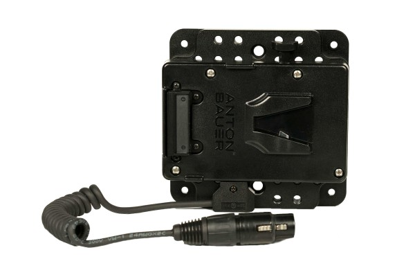 "SmallHD V-Mount Battery Bracket with PWR-ADP-CPLATE (for 17"")"