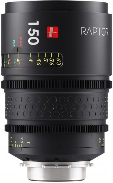Raptor T2.9 150mm Lens
