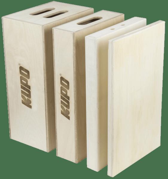 KUPO KAB-015 Apple Box Set (Full, Half, Quarter, Pancake)