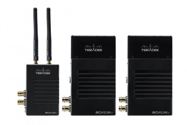 Teradek Bolt XT 500 Wireless SDI/HDMI Transmitter/2x Receiver Set *EOL*