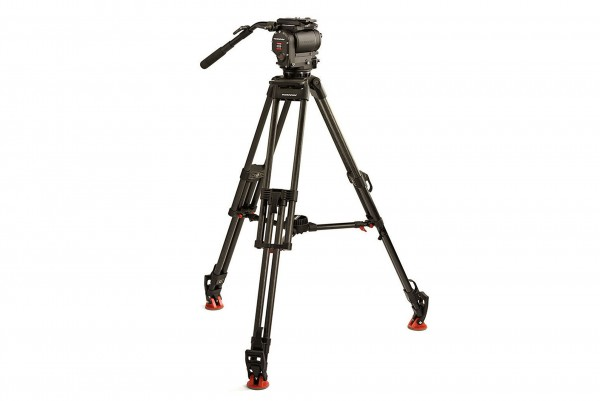 OConnor 1030D Head & 30L Tripod with Mid Level Spreader