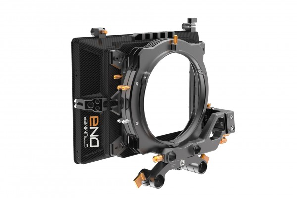 Bright Tangerine 'Strummer DNA Kit 4: 4'' x 5.65'' 3-Stage Matte Box: Inc, 15mm LWS Arm