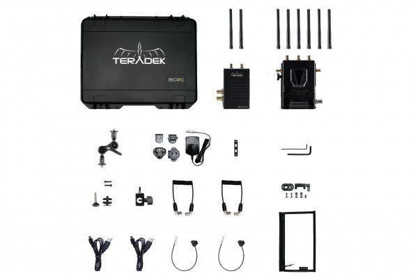Teradek Bolt LT 1000 Wireless HD-SDI Transmitter/Receiver Deluxe Kit V Mount