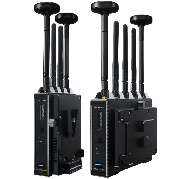 Teradek Bolt 4K MAX Wireless Transmitter/Receiver Set with V-Mount