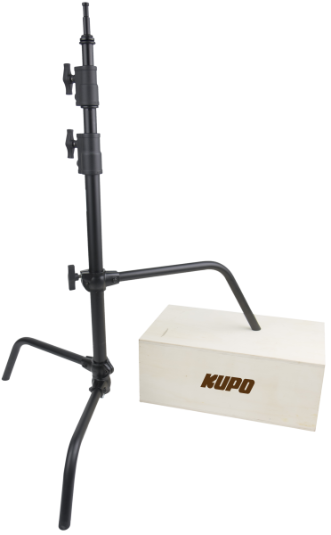 "KUPO CS-40MB 40"" C-Stand with sliding leg,Black"
