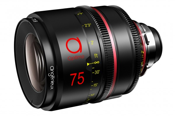 Angénieux 75mm Optimo Prime