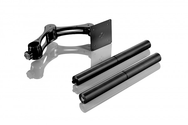 INOVATIV Sidewinder Universal – Arm, Head Plate, 800mm 2 part Post, Pair Monitor Arm