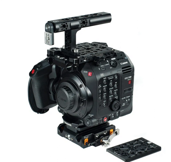 Bright Tangerine Canon C500 Mark II – Base Kit
