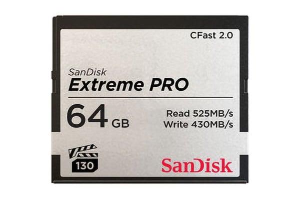SanDisk CFast 2.0 Extreme Pro 64GB