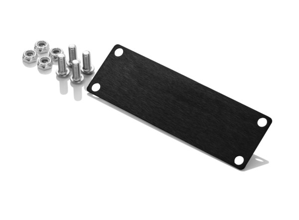Inovativ AXIS Accessories: Filler Plate for the WorkSurface Pro