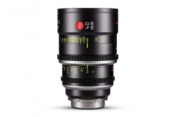 Leitz 40mm Summilux-C™ T1.4 PL Mount