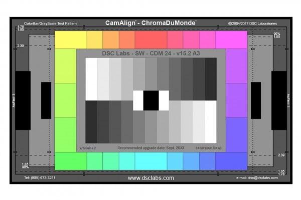 DSC Labs ChromaDuMonde 24 CamAlign Chip Chart