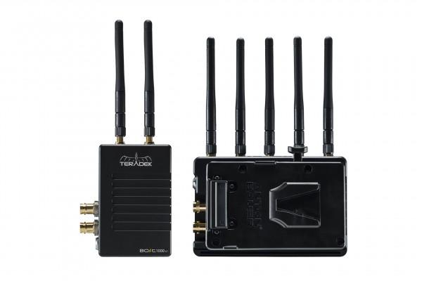 Teradek Bolt XT 1000 Wireless SDI/HDMI Transmitter/Receiver Set with RX V-Mount Pass-Through Battery