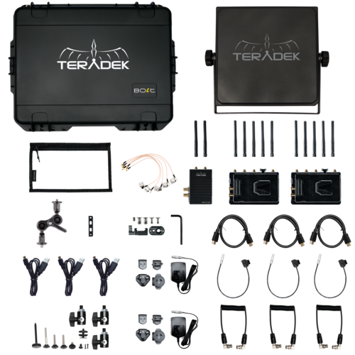 Teradek Bolt XT 1000 Wireless SDI/HDMI Transmitter/2x Receiver Deluxe Kit V Mount