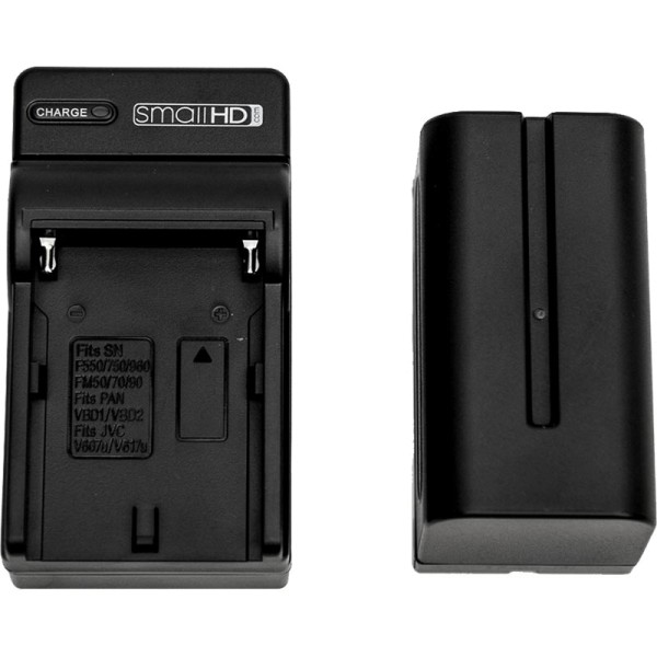 SmallHD NPF (L Series) Battery and Single Charger Kit