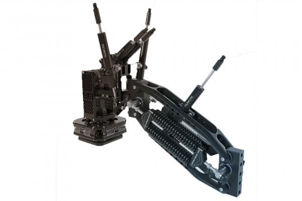 Flowcine Black Arm Complete + Tranquilizer + Wheeled Pro Case