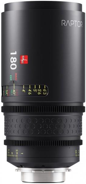 Raptor T2.9 180mm Lens