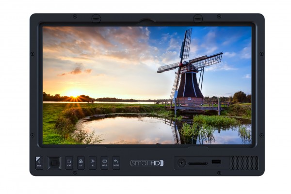 "SmallHD 1303HDR 13"" HDR Ready Production Monitor V-Mount Kit with HD-SDI/HDMI and 1500Nits"