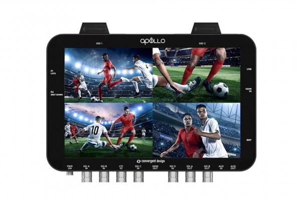 Convergent Design APOLLO - Portable Multicamera Live Switcher/Recorder