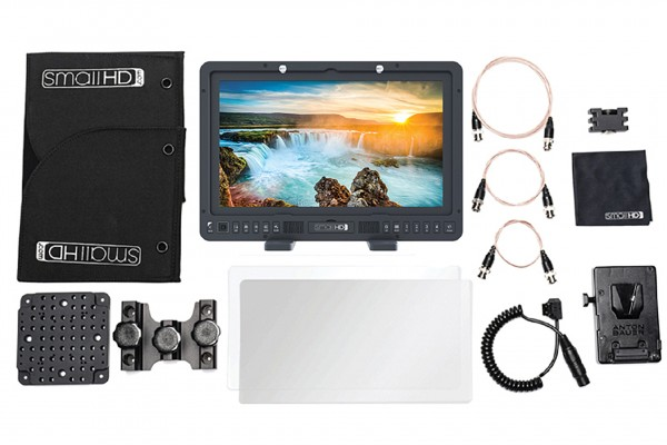 "SmallHD 1703-P3X V-Mount Kit 17"" Full-HD Wide Color Gamut (P3) Reference Grade with HD-SDI/HDMI, 900"