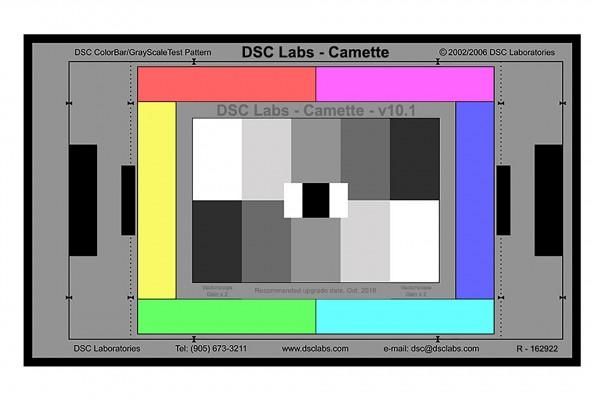 DSC Labs Camette Test Chart