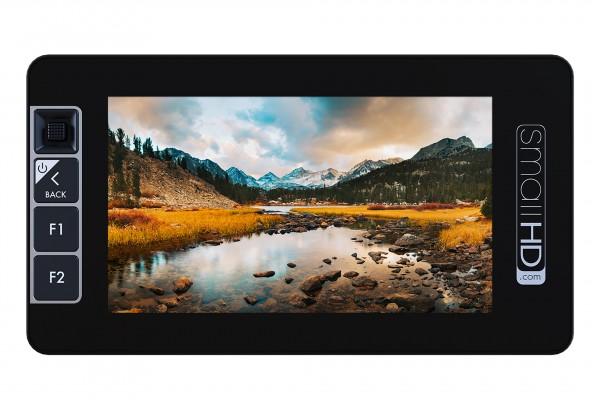 "SmallHD 503 +V-mount 5"" Ultra-Bright Full-HD Field Monitor with HD-SDI/HDMI, 2200Nits and V-Mount ba"