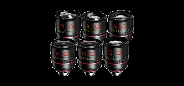 Angénieux Optimo Prime Silver Set